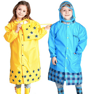 Children's waterproof poncho