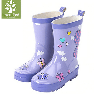 Fashion kids rain boots