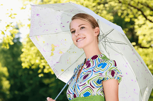 most stylish women umbrellas