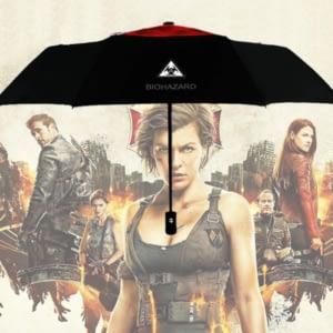 Biohazard designed umbrella