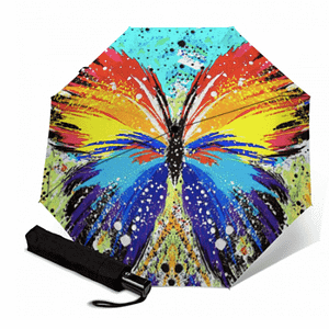 Butterfly sun umbrella