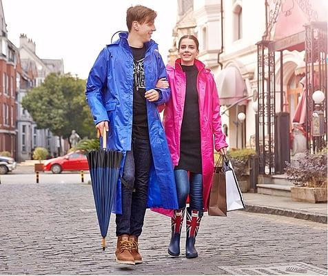 Impermeable raincoat