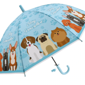 Dog printed umbrella