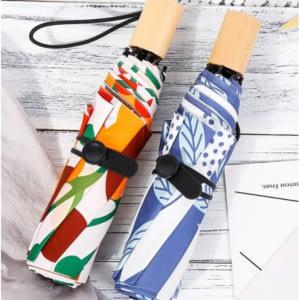 Stylish flower umbrella