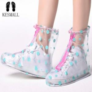 Reusable rain shoe covers