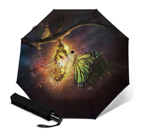Butterfly sun umbrella