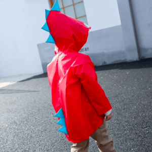 Childre's dinosaur raincoat