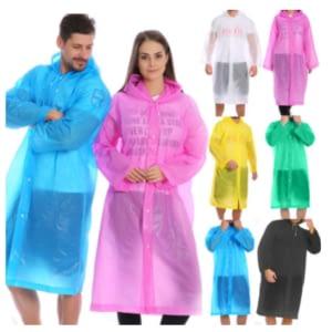 fashioned rainwear