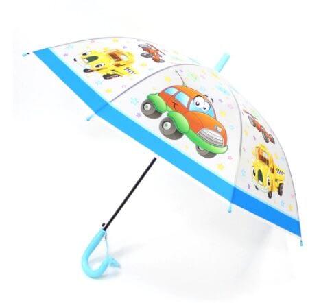 Transparent kids umbrella