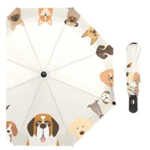 doggie printed umbrella