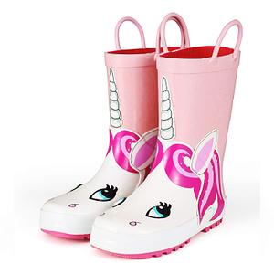 Unicorn designed boots