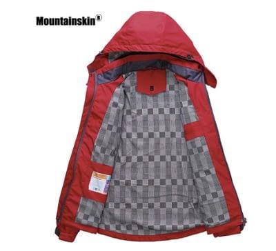 Mountainskin women outdoor rain jacket