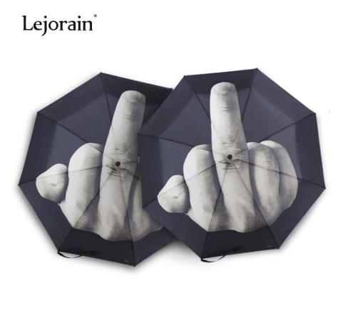 Middle finger umbrella