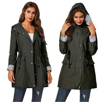 spring autumn rain jacket