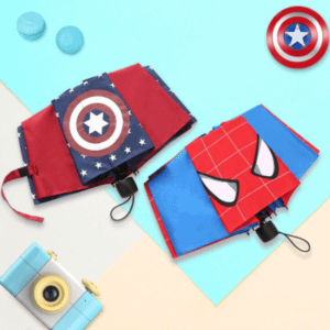 Kids superheroe umbrellas