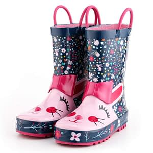Rabbit pattern boots
