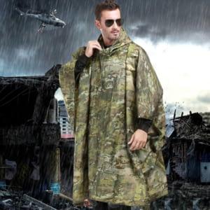 Men waterproof poncho