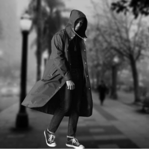 Stylish men raincoat