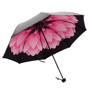 flower designed umbrella