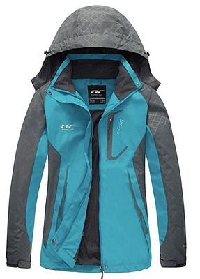 diamond lighweight rain jacket