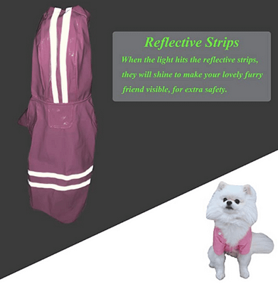 Lighweight rain jacket