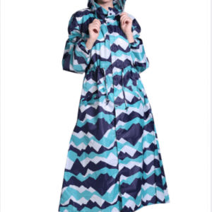 long female raincoat