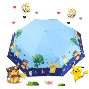 Pikachu cartoon umbrella