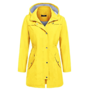 women outdoor raincoat