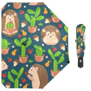 Hedgehog cartoon umbrella