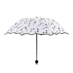 beautiful flower umbrella