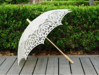 handmade wedding umbrella