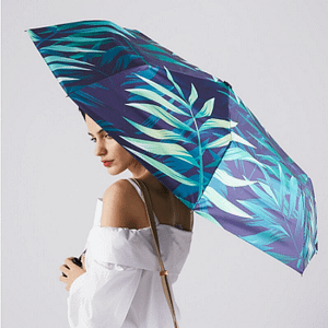 Tropical art designed umbrella