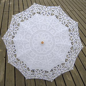 Elegant wedding umbrella