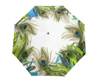 Animals printed umbrella