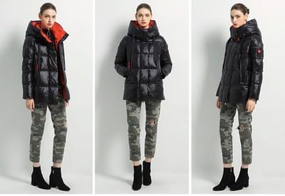 New female winter jacket