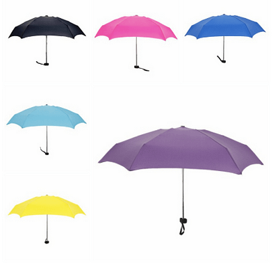 Light pocket umbrella