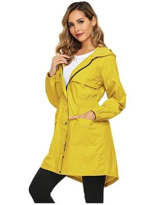 outdoor breathable rain jacket