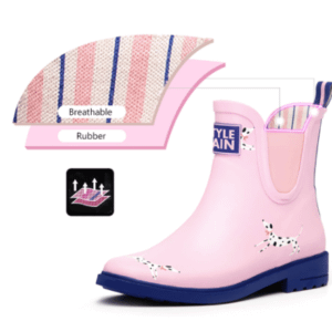 Ankle rain boots