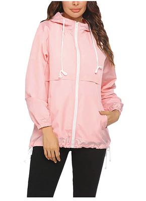 city walking sporty rain jacket
