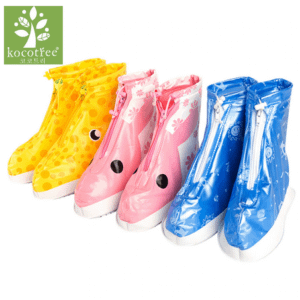 Kids rain shoe covers