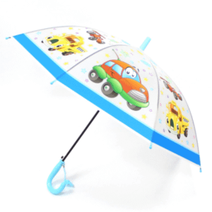 Transparent kids umbrella