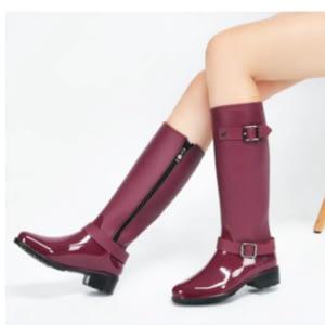 Women tall rain boots