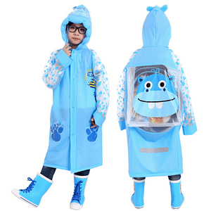 Cartoon cute raincoat