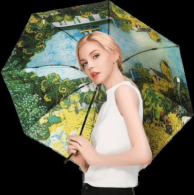 Black coating reverse umbrella