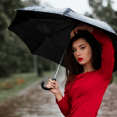 15 most stylish women umbrellas