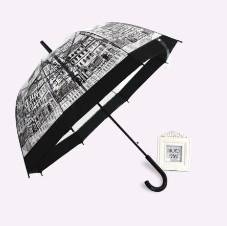 elegant transparent umbrella